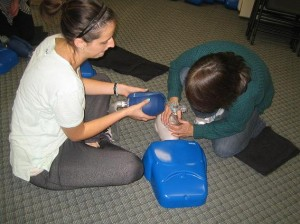 "workplace approved standard childcare first aid and CPR level ""B"" Courses in Thunder Bay, Ontario"